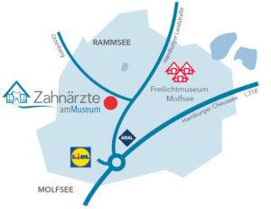 Anfahrt-Zahnaerzte-am-Museum-Molfsee